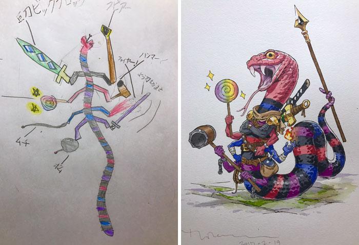 serpiente guerrera thomas romain