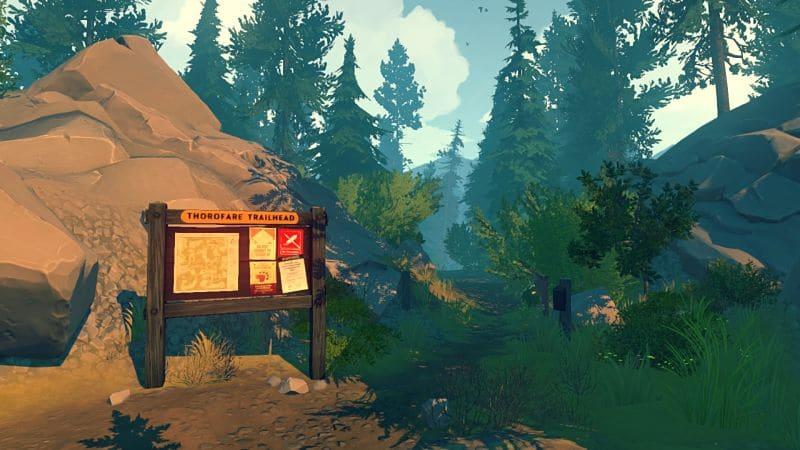 Analizar Firewatch juego del 2016