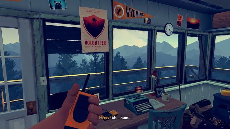 Conviertete en guardabosques con Firewatch